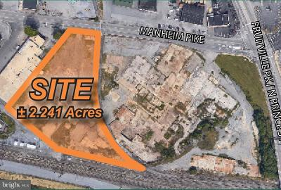 Lancaster Residential Lots & Land For Sale: 1046 Manheim Pike