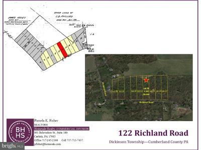 Carlisle Residential Lots & Land For Sale: 122 Richland Road