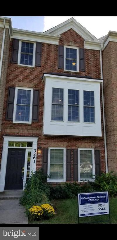 Washington Townhouse For Sale: 3261 Fort Lincoln Drive NE