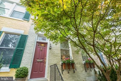Georgetown Townhouse For Sale: 3310 Dent Place NW