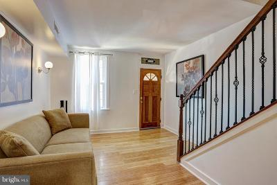Locust Point Townhouse For Sale: 1526 Clement Street E