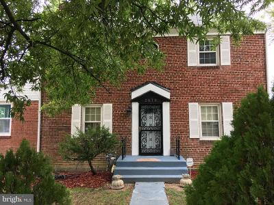 Hyattsville Single Family Home For Sale: 2019 Avalon Place