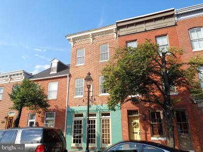 Baltimore Townhouse For Sale: 909 Fell Street