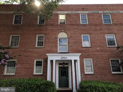 Silver Spring Condo For Sale: 2250 Washington Avenue #W-302