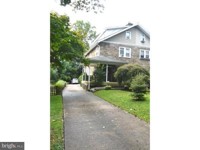 Jenkintown Single Family Home For Sale: 141 Township Line Road