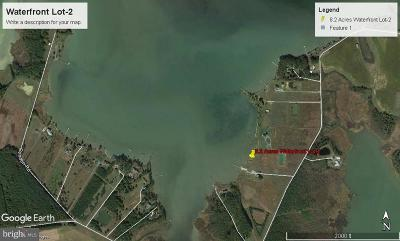 Dorchester County Residential Lots & Land For Sale: W/S Hills Point Road