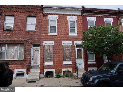 Point Breeze Townhouse For Sale: 1706 S Bancroft Street