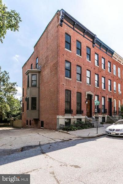Baltimore Townhouse For Sale: 117 Lanvale Street
