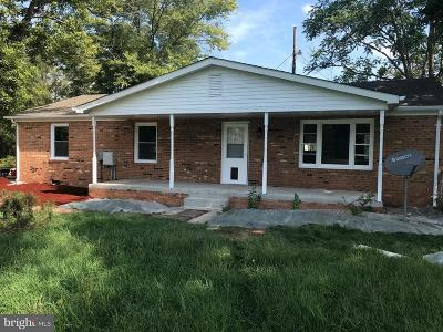Fauquier County Single Family Home For Sale: 10475 Short Cut Road