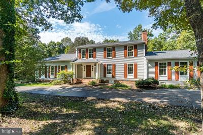 Fredericksburg Single Family Home For Sale: 13400 Motts Run Road