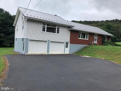 Frostburg Single Family Home For Sale: 10129 Boston Street