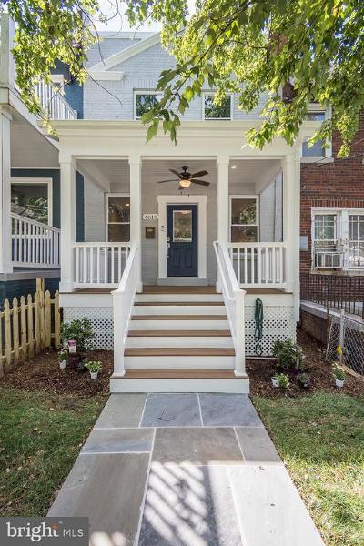 Petworth Townhouse For Sale: 4616 4th Street NW