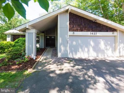 Springfield Single Family Home For Sale: 7627 Mineral Spring Court