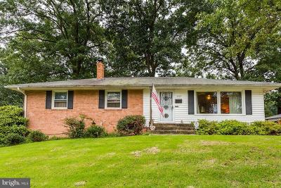 Beltsville Single Family Home For Sale: 3109 Ellicott Road