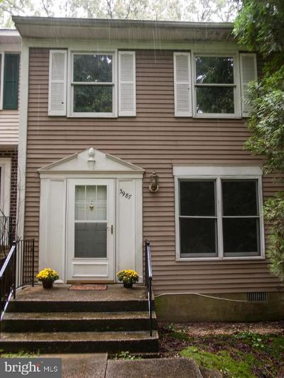 Waldorf MD Townhouse For Sale: $210,000