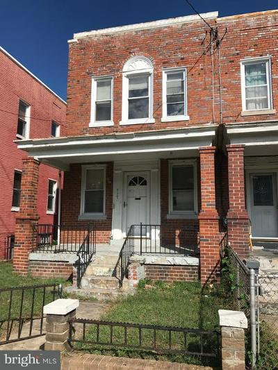Brightwood Single Family Home Under Contract: 717 Rittenhouse Street NW