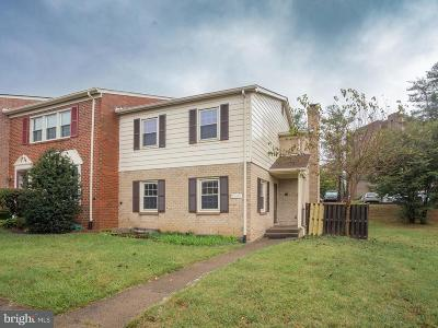 Annandale Townhouse For Sale: 7490 Covent Wood Court