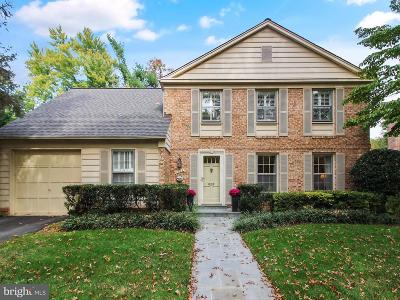 Rockville Single Family Home For Sale: 1223 Fallsmead Way
