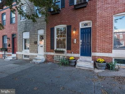 Baltimore Townhouse For Sale: 814 South Conkling Street