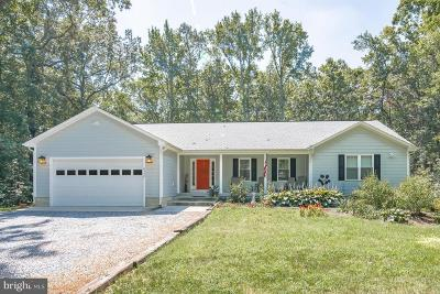 Spotsylvania Single Family Home For Sale: 6352 Foster Road