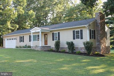 Sykesville Single Family Home For Sale: 1100 Day Road