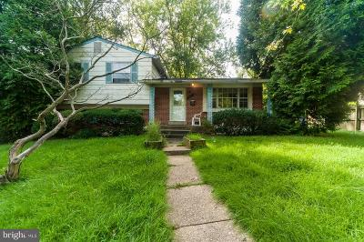 College Park, Greenbelt Single Family Home For Sale: 5015 Stewart Court