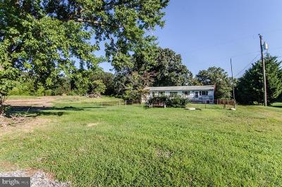 Colonial Beach Single Family Home For Sale: 20287 Ridge Road