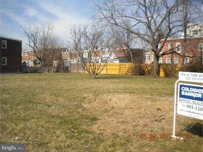 Wilmington Residential Lots & Land For Sale: 1707 Chestnut Street