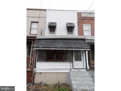 Trenton NJ Single Family Home For Sale: $24,900