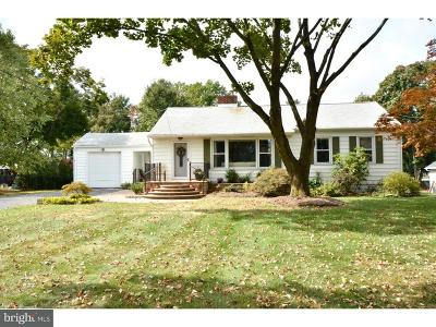Princeton Junction Single Family Home For Sale: 384 S Post Road