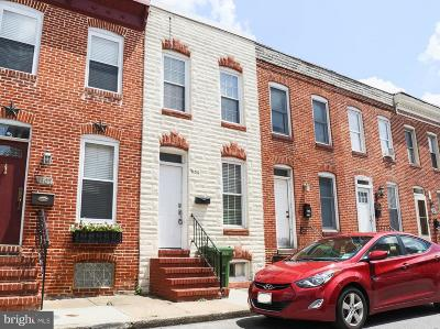 Federal Hill Townhouse For Sale: 1609 Patapsco Street