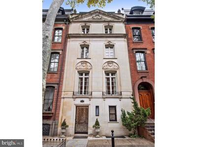 Philadelphia Townhouse For Sale: 2019 Delancey Place