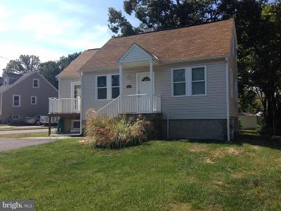 Parkville MD Single Family Home For Sale: $249,900