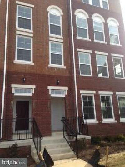 Fairfax Townhouse For Sale: 3075 Rittenhouse Circle #59