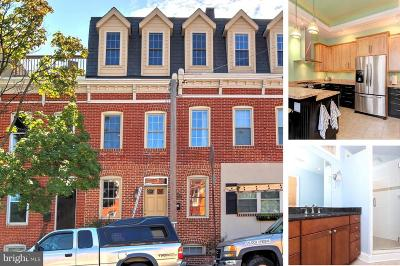 Canton, Federal Hill, Federal Hill Area, Federal Hill;, Federall Hill, Fell Point, Fells Point, Fells Point Upper, Inner Harbor Single Family Home For Sale: 605 Clement Street E