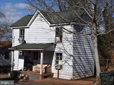 Culpeper County Single Family Home For Sale: 118 Elm Street