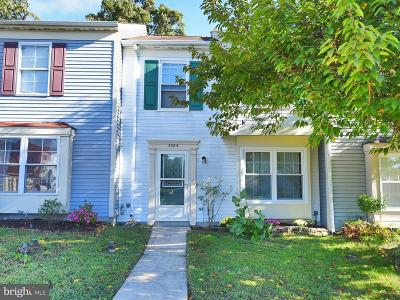 Belcamp Townhouse For Sale: 1324 Jervis Square