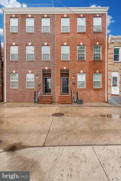 Canton, Canton Company, Canton Cove, Canton East, Canton, Patterson Park, Canton/Brewers Hill, Canton/Lighthouse Landing Townhouse For Sale: 3308 Harmony Court