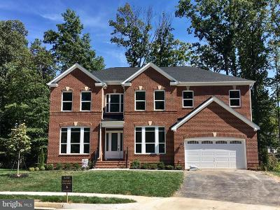 Burke Single Family Home Under Contract: 9814 Sheads Court