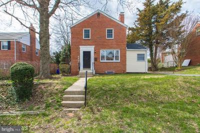 Silver Spring Single Family Home For Sale: 8904 Kimes Street