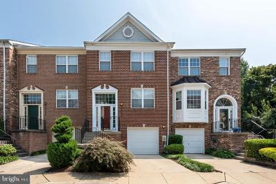 Gaithersburg Townhouse For Sale: 18622 Carriage Walk Circle