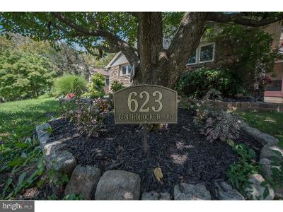 Bala Cynwyd Single Family Home For Sale: 623 Conshohocken State Road