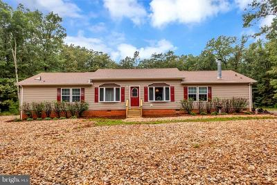 Spotsylvania Single Family Home For Sale: 11601 Orange Plank Road