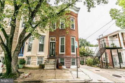 Hampden, Hampden Hon!! Townhouse For Sale: 3301 Beech Avenue