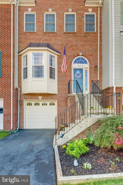Leesburg Townhouse For Sale: 616 Springhouse Square SE