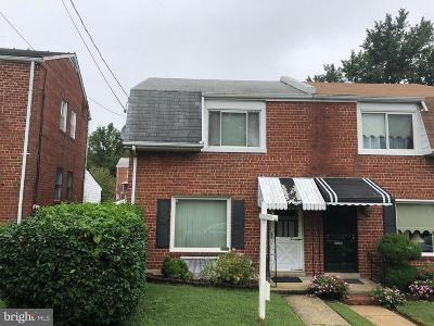 Washington DC Single Family Home For Sale: $380,000