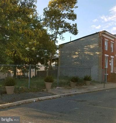 Baltimore City Residential Lots & Land For Sale: 512 Archer Street