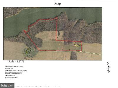 Cecilton, Earleville, Georgetown, Warwick Farm For Sale: 145 Middle Neck Road