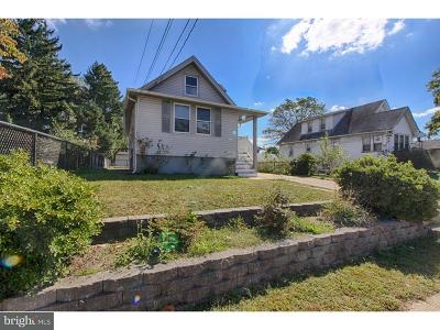 Gloucester City Single Family Home For Sale: 27 Yale Avenue