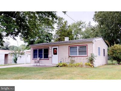 Maple Shade NJ Single Family Home For Sale: $139,900